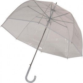 Grand parapluie transparent cloche