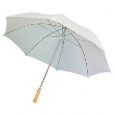 Grand parapluie golf blanc