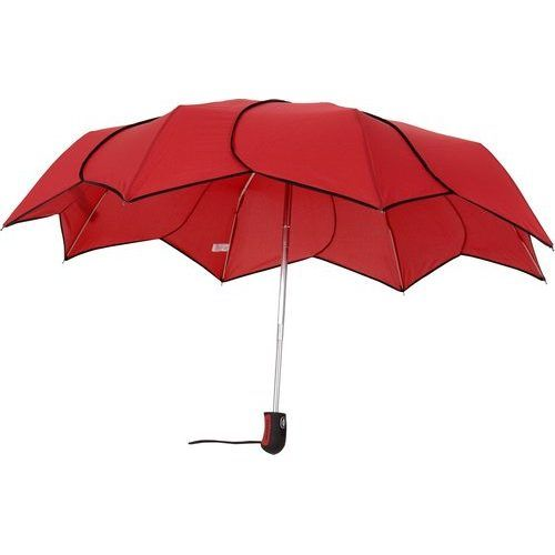 Parapluie rouge pliant Pierre Cardin Sunflowers automatique
