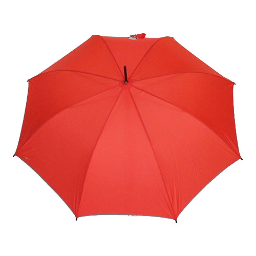 Parapluie droit automatique orange