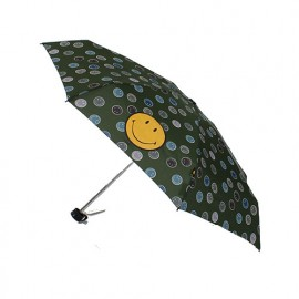 Parapluie mini Smiley kaki