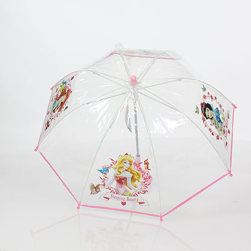 Parapluie transparent cloche princesses