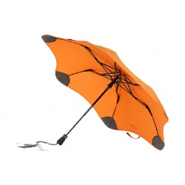 Parapluie anti vent pliant orange