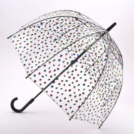 Parapluie cloche transparent multicolores Fulton