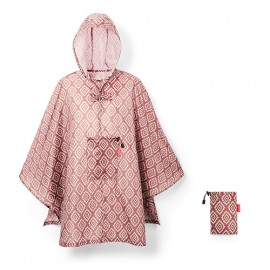 Poncho imperméable diamonds rouge Reisenthel