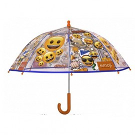Parapluie enfant transparent emoji Edition Noel 2018