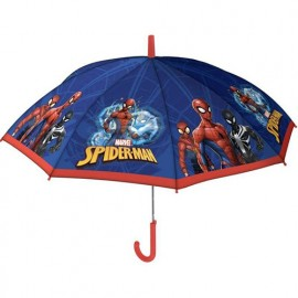 Parapluie enfant Spiderman rouge