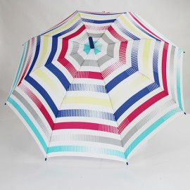 Parapluie long Esprit summer stripes