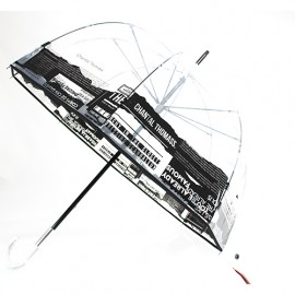 Parapluie cloche transparent Chantal Thomass