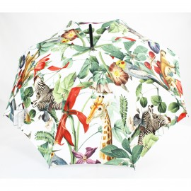 Parapluie canne Jungle tropicale