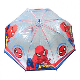 Parapluie enfant Spiderman transparent