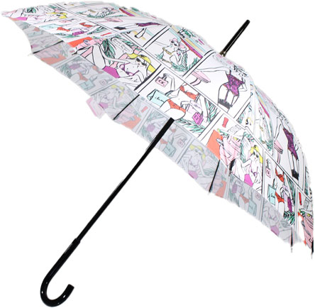 Parapluie canne Chantal Thomass pin up